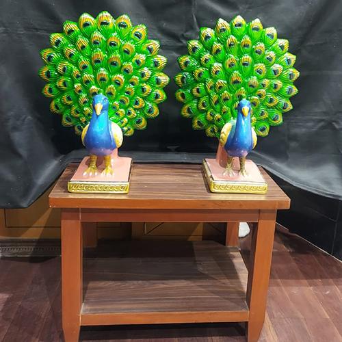 Peocock Couple Statue