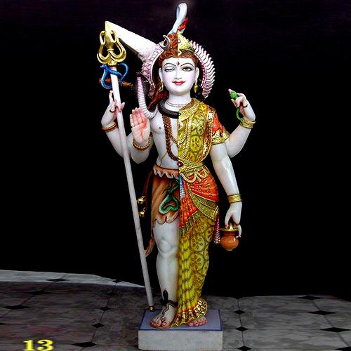 Marble God Shiva Statue