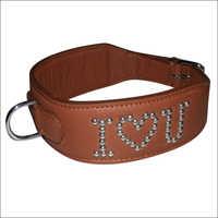 I love U Dog Collar