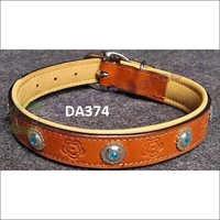 Turquoise Stone Dog Collar