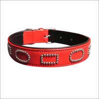 Hot Red Dog Collar