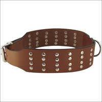Rivetted Design Large Dog Collar