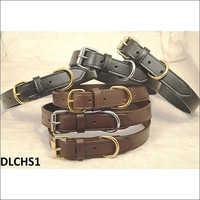 Saddle Leather Dog Collar