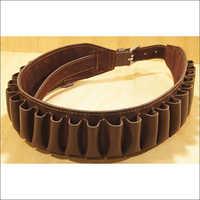 12G x 25 Loops Buffalo Leather Cartridge Belt