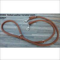 Variable Leather Leash 220cm