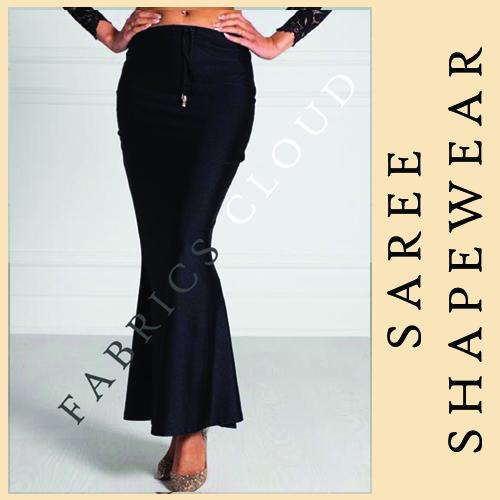 DRAW STRING BLACK SAREE SHAPER
