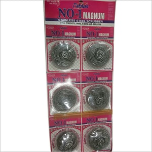 6pc Scrubber Packing Card