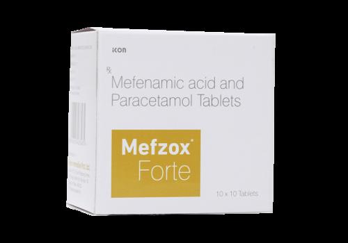 MEFZOX FORTE TABLET (MEFENAMIC ACID 500MG & PARACETAMOL 325MG)