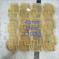 40 mm PVC Cover Block Mould