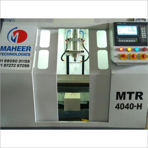 Automatic CNC Metal Engraver Machine