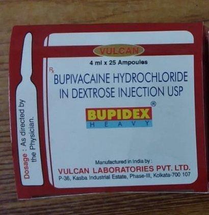 BUPIVACAINE HYDROCHLORIDE IN DEXTROSE INJECTION USP