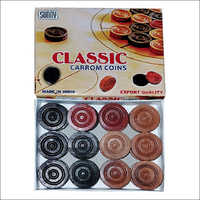 Wooden Carrom Board Coins