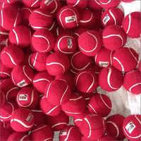 Red Woolen Tennis Ball