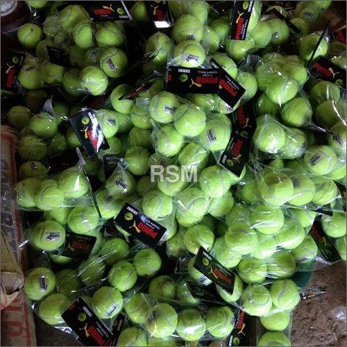 Yellow Woolen Tennis Ball