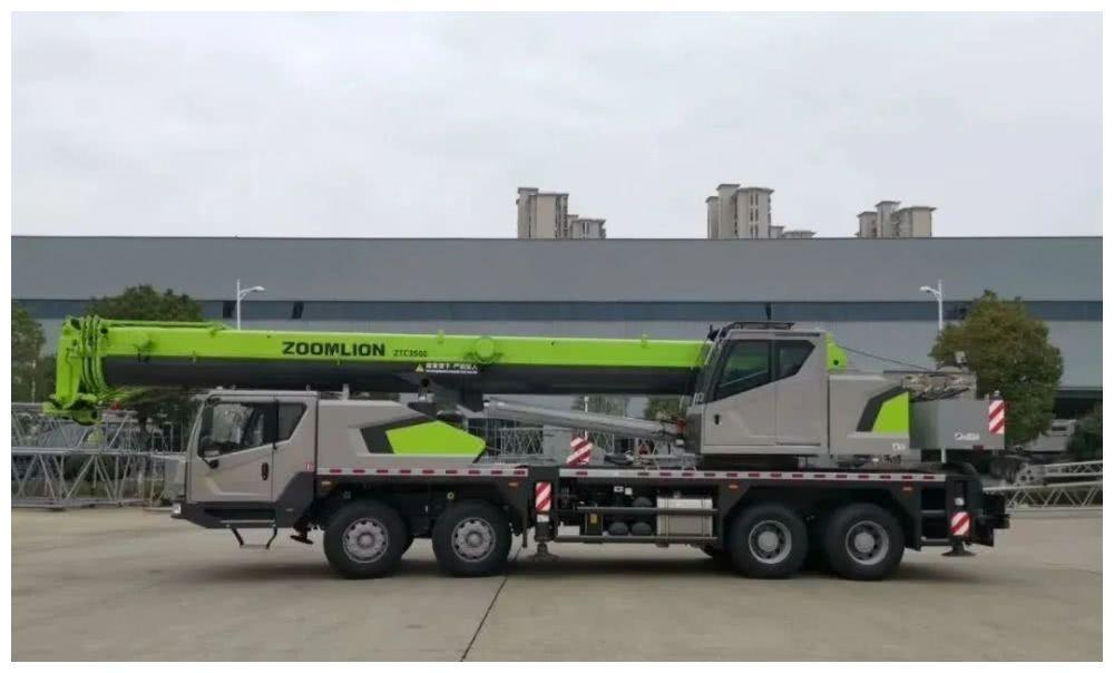 mobile crane 35 ton Zoomlion hydraulic truck crane used mobile crane