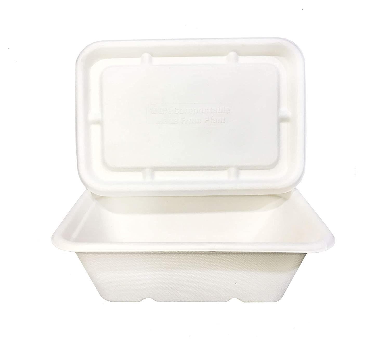 650ML BAGASSE FOOD BOX