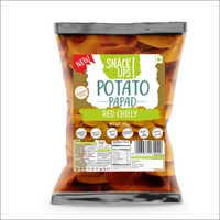 Red Chilly Potato Papad
