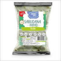 Sabudana Plain Potato Papad