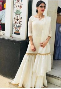 GORJET WITH HEVVY EMBROIDERY WORK  DRESS COLLECTION