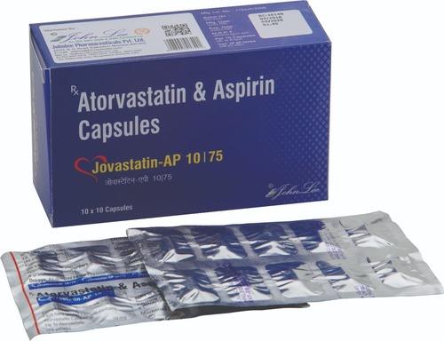 ATORVASTIN CALCIUM IP 10 MG + ASPIRIN IP 75 MG