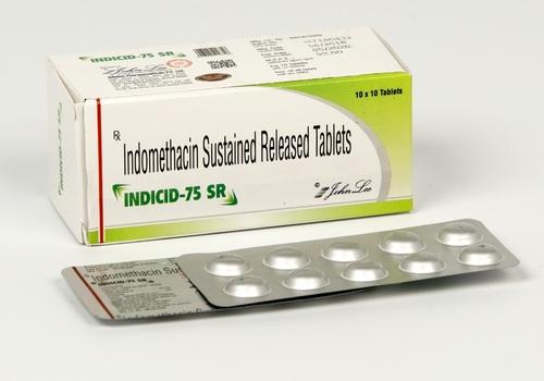 INDOMETHACIN SUSTAINED RELEASED TAB 75 SRQ