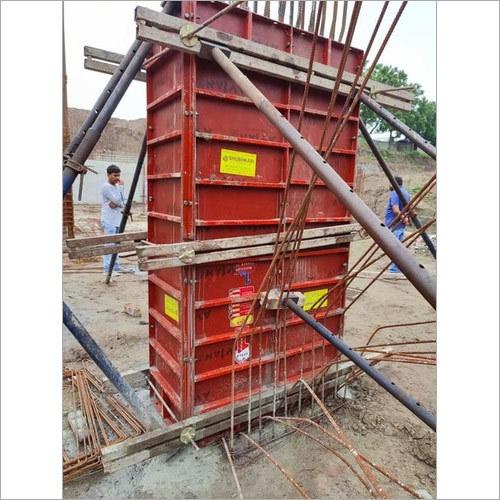 Scaffolding column formwork