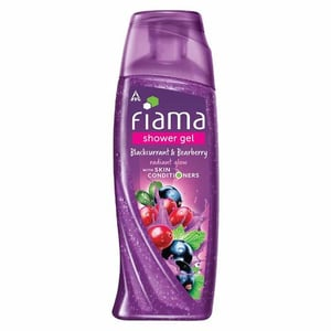 Fiama Shower Gel Blackcurrant & Bearberry Body Wash With Skin Conditioners For Radiant Glow - 250ml