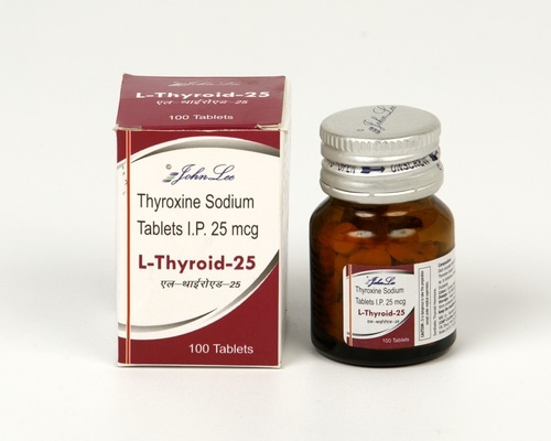 Thyroxine Sodium IP 25Mcg