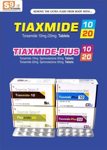 Torsemide 10Mg+Spironolactone 50Mg Tablets