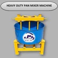Heavy Duty Pan Mixer Machine
