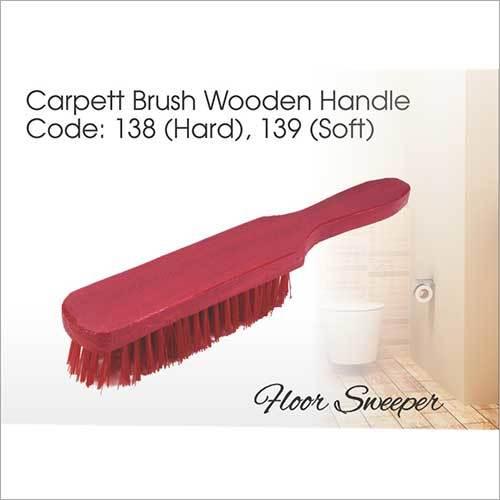 Wooden Handle Carpet Brush