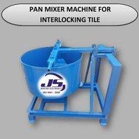 Pan Mixer Machine For Interlocking Tile