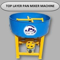 Top Layer Pan Mixer Machine