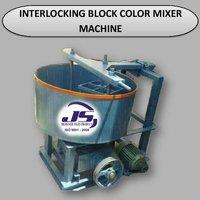 Interlocking Color Mixer Machine