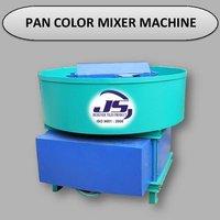 Pan Color Mixer Machine