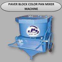 Paver Block Color Pan Mixer Machine