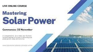 Mastering Solar Power Live Online Course