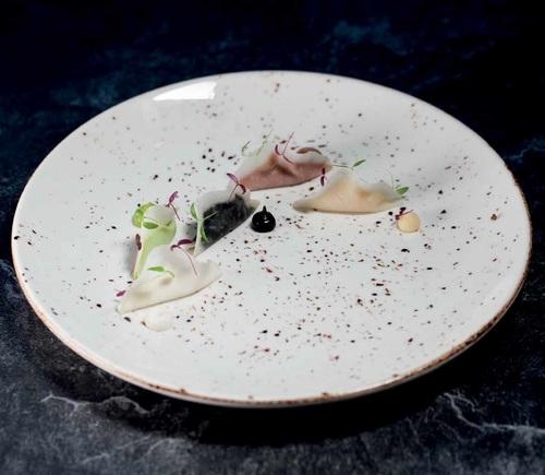 Bonna Porcelain Crockery Grain 27 cm Plate
