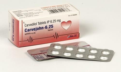 Carvedilol IP  6.25 Mg