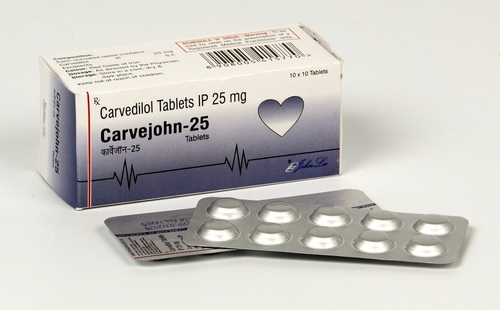 Carvedilol IP  25 mg