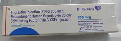 Filgrastim Injection Ip Pfs 300Mcg