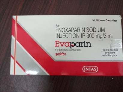 ENOXAPARIN SODIUM INJECTION IP 300MG/3ML