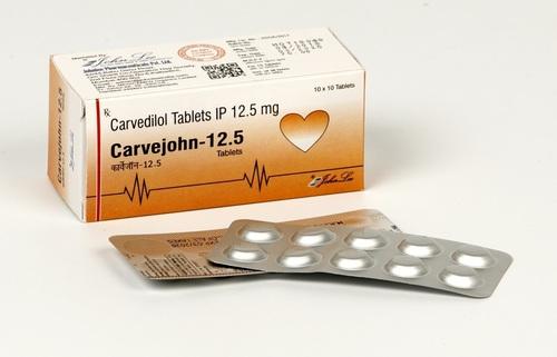Carvedilol IP  12.5 mg