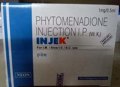 Phytomenadione Injection I.P.