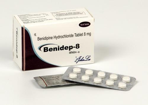 Benidipine HCL 8 mg