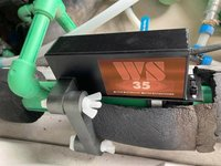 WS-35 Active Electronic Water Conditioner For Small Hotels, Small Business