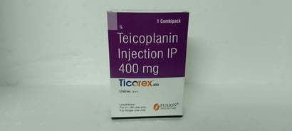 Teicoplanin Injection Ip 400Mg