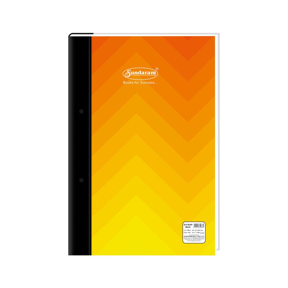 Sundaram A/4 Refill Book - 150 Pages (RF-4)