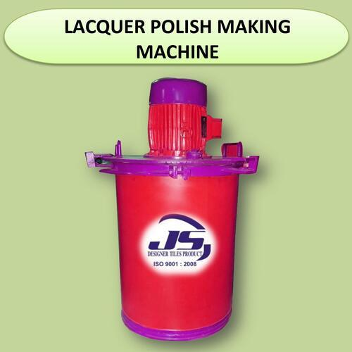 Lacquer Polish Making Machine