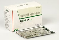 CLOPIDOGREL 75 MG +ASPIRIN 75 MG